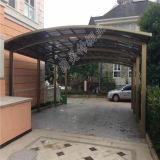 Carport di Camopy dell'automobile della tettoia dell'automobile del tetto dello strato del policarbonato con il blocco per grafici della Balu-Lega