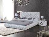 غرفة نوم أثاث لازم حديثة بيتيّ جلد سرير