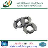 Boîtier de filtre en aluminium à usinage CNC, partie usinée