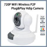 áudio em dois sentidos P2p Plug&Play Hdip da câmera sem fio de 720p WiFi