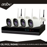 cámara del IP del sistema de seguridad del CCTV del kit de 720p 4CH WiFi NVR