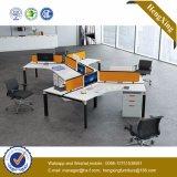 チェリーのオフィス用家具L形ワークステーションオフィスのキュービクル(HX-NJ5025)