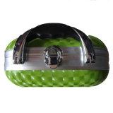Coque rigide vert étanche EVA personnalisé Sac cosmétique et de cas