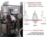 Equipamento de padaria Mutifunction comercial bater massa/bater ovos/batendo até o creme misturador planetário