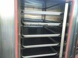 Commerciële Apparatuur Van uitstekende kwaliteit 12 van de Bakkerij Oven van de Bakkerij van het Roestvrij staal van het Gas van de Pizza van de Oven van de Convectie van Pannen de Elektrische