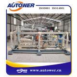 Cargamento superior diesel que descarga precio de fábrica del sistema del conjunto del patín
