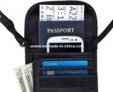 Ladrões de Digitas do bloco e carteira da garganta do suporte do passaporte do sinal RFID