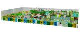 Het grote Zachte BinnenPlaygournds Ontwerp van het Ongehoorzame Kasteel Txd16-ID095