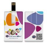Nach Maß quadratischer Karten-Blitz des Kreditkarte USB-Blitz-Laufwerk-4GB (TF-0042)