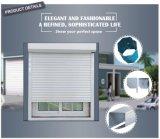 Perfil de aluminio persianas Obturador fijo de cristal de ventana de Windows celos con tornillería superior