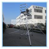 装飾のための安全なセリウムの公認の縦アルミニウム足場