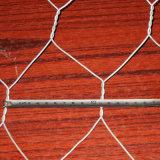 Engranzamento de fio/caixa sextavados galvanizados Quente-Mergulhados de Gabion