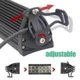 Druckgegossener nicht für den Straßenverkehr wasserdichter LED heller Stab der Aluminiumgehäuse-Doppelreihen-6D 120W