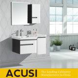 Vaidade modernas de venda quentes do banheiro da madeira compensada da laca do estilo (ACS1-L28)