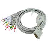 3 ligação de descanso da máquina 12 da canaleta ECG com software do PC 3.5 monitor Handheld 903BS com o certificado do ISO do Ce - Candice do electrocardiógrafo EKG da polegada