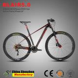 29er 30carbone Vélo de montagne de vitesse avec l'aluminium de la suspension de la fourche de l'air