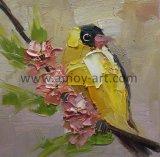 高品質の壁の装飾のためのハンドメイドの現代パレットナイフの鳥の油絵