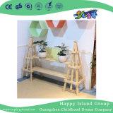 Детский сад мебель мини детей твердых Деревянная модель автомобиля поле цветов (HG-4105)