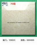 Buone mattonelle di pavimento bianche della pietra del Grado-Marmo delle mattonelle 80X80 della porcellana del materiale da costruzione di qualità di Foshan