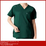 広州の工場OEMのカスタム病院勤務医看護婦のコート(H3)