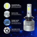 Vente en gros trois 6500K lumineux superbe latéral 8000lm H7 9005 9006 ampoule H7 de phare du véhicule DEL DEL de H10 9012 H8 H11
