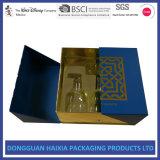 Cosméticos rígidos de lujo de la cartulina que empaquetan el rectángulo para el diseño de la colección del BALNEARIO de Skincare