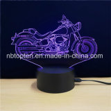 創造的なアクリルの机3Dの錯覚ライト3D LED夜ランプ