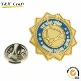 Distintivo di vendita caldo di Pin del risvolto del ricordo del metallo di promozione di Facotry
