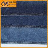 Ткань джинсовой ткани Spandex полиэфира хлопка цвета 7.3OZ индига
