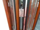 Portello di piegatura scorrevole di alluminio della rottura termica europea di disegno della Cina