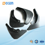 Kundenspezifische schwarze überzogene Mittellinie 5, die Plastikteile maschinell bearbeitet