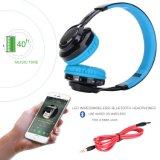 Беспроволочные наушники СИД стерео Bluetooth над ухом, портативным шумом шлемофона изолируя наушники на iPhone 7 7plus 6s 6 5s.
