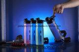Il nuovi offuscano la bottiglia di acqua portatile della plastica del commestibile del coperchio della tazza polacca dello spazio