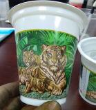 플라스틱 컵 Gc 6180를 위한 6개의 색깔 오프셋 인쇄 기계