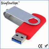 최신 판매 USB 3.0 회전대 USB 섬광 드라이브 지팡이 (XH-USB-001)
