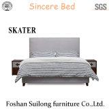 Современная мебель с одной спальней американском стиле ткань кровать SK09