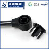 Suportes do suporte da mola de gás com o encaixe de extremidade plástico usado para a caixa de ferramentas do tronco