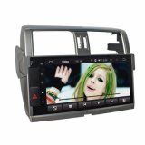 """10.1 """" Toyota Prado 2014 Bluetooth GPS를 가진 인조 인간 차 DVD 플레이어를 위한 자동차 라디오"""