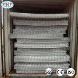 Покрынные PVC сваренные панели ячеистой сети для клеток
