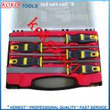 """8 """"機械装置のPolybagのパッキング(07630)の鋼鉄T8炭素鋼5PCS鋼鉄ファイル"""