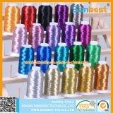 小さい巻き枠の多彩なポリエステル刺繍の糸