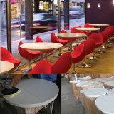 Комплект обедая таблицы французского античного журнального стола обедая таблицы мраморный белого круглый