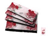 Sciarpa di seta di Customerized delle rose per la signora