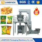 Sec peser la petite machine à emballer de pommes chips