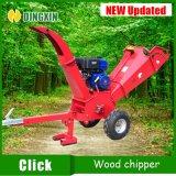 Trituradora de madera de gasolina de la máquina de chipping