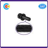 DIN/ANSI/BS/JIS Kohlenstoffstahl-/aus rostfreiem Stahl schwarzes Zink-sechseckige Cup-Kopf-Kombinations-Schrauben