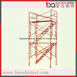 Baoshi 강철 까만 강철 비계 프레임