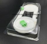 Divisore Sc/APC del PLC di telecomunicazione 1X2 0.9mm Blockless di Gpon del cavo ottico della fibra