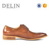 Итальянские мужчины обувь из натуральной кожи крупного рогатого скота с лучшим качеством
