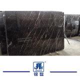 Marmo Polished naturale cinese dell'oro di Nero per il dispersore bacino/del controsoffitto/la pavimentazione/parete/mattonelle interne